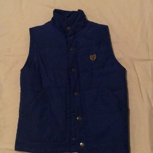 Chaps Royal Blue Vest